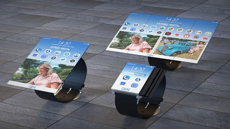 ساعت هوشمند IBM به تبلت تبدیل می شود
