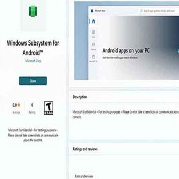 اجرای اندروید در ویندوز 11